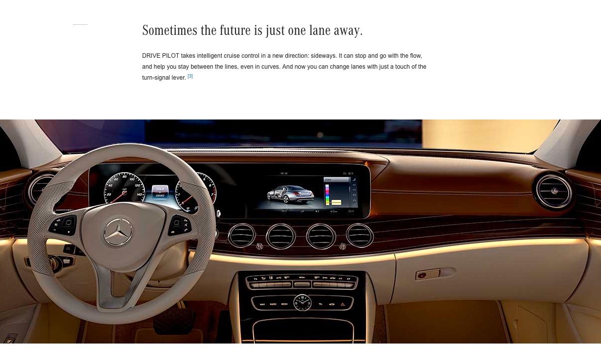 The war for autonomous driving 2017 mercedes benz e class for Mercedes benz autopilot