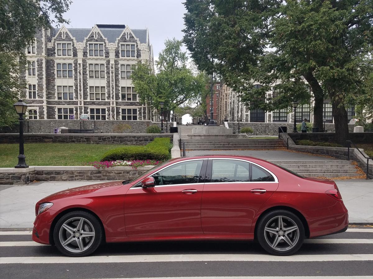 Mercedes E Class Ditching Professor Gadget The Drive