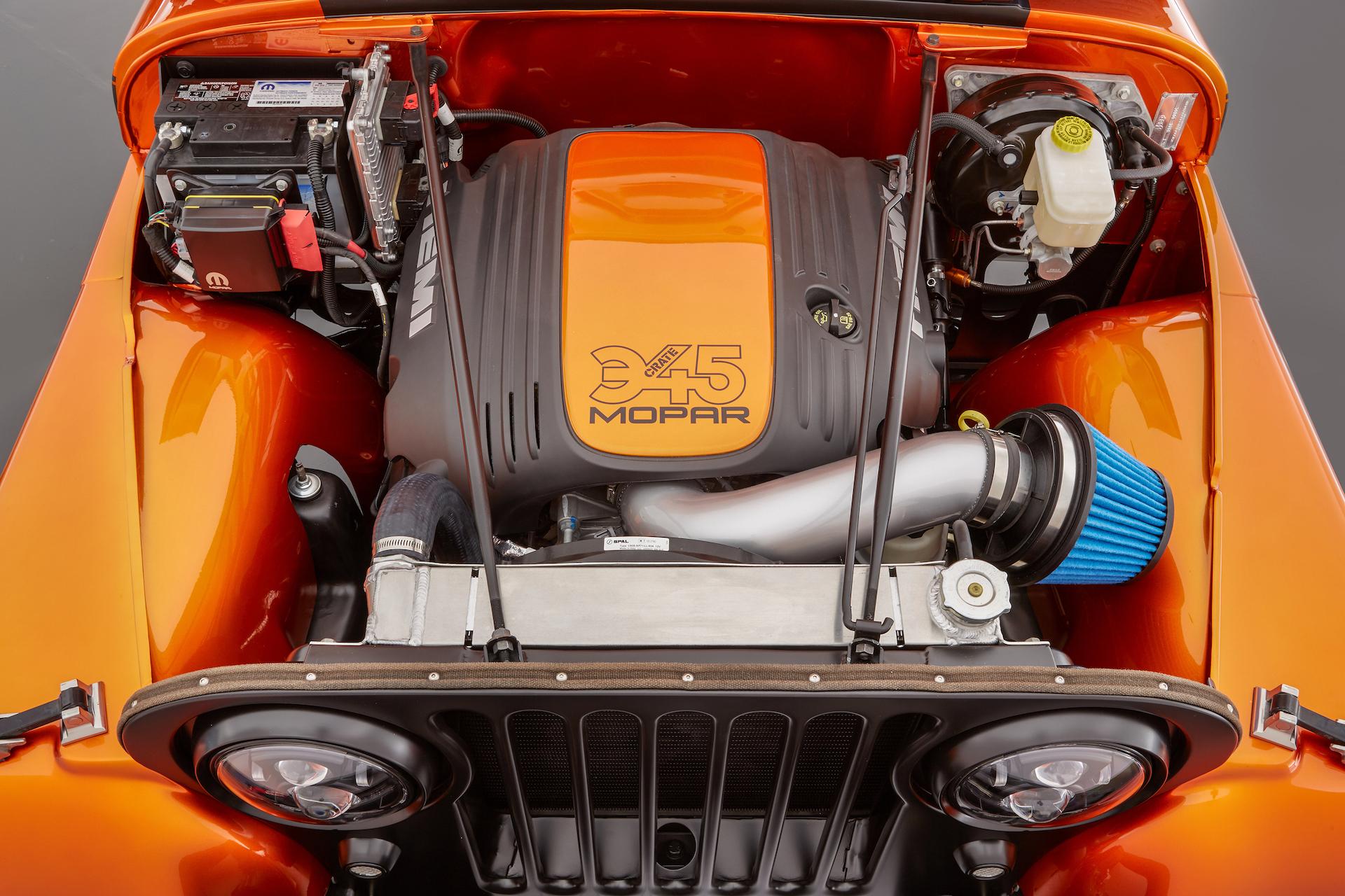 [SCHEMATICS_48DE]  Mopar Will Sell You Its SEMA Jeep Concept's Hemi V8 Swap Kit - The Drive   Dodge Hemi Engine Swap Wiring Harness      The Drive