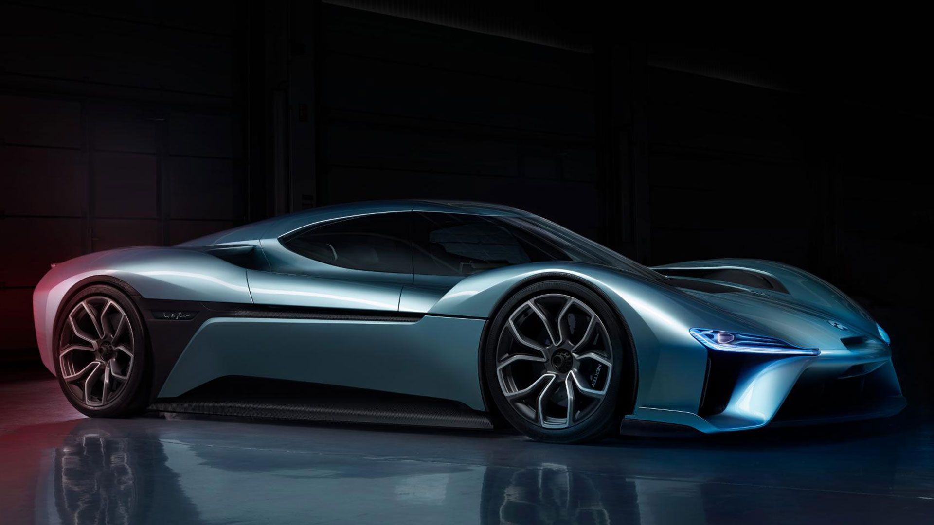 did nextev s new 1 360 hp nio ep9 electric supercar set a nurburgring record the drive. Black Bedroom Furniture Sets. Home Design Ideas