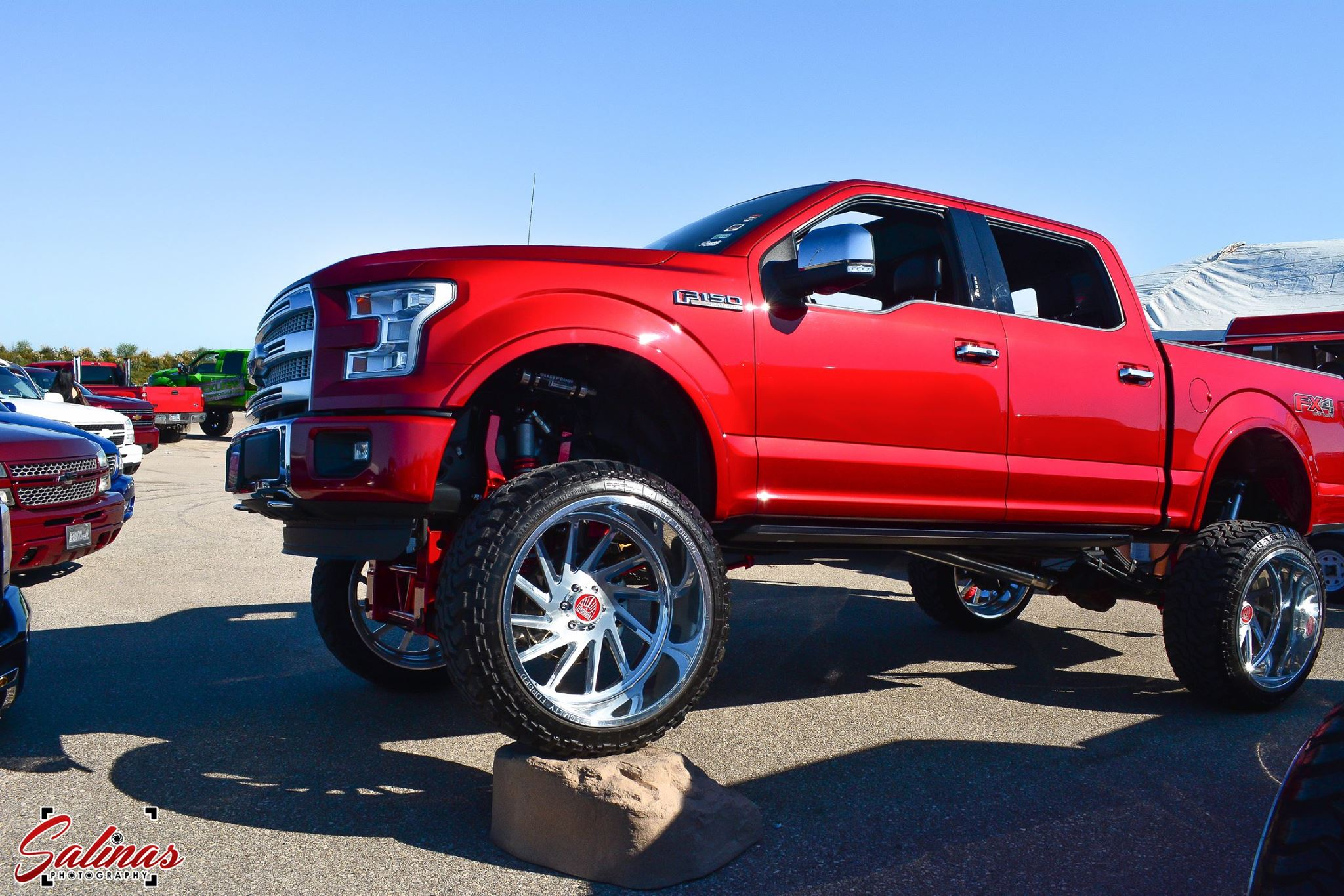 Lifted Ford F150 >> Texas Truck Shows Are All About The Billet - The Drive