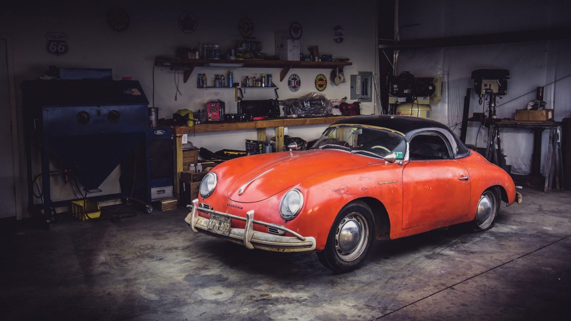 This Custom Air Cooled Porsche Barn Find Spent 40 Years