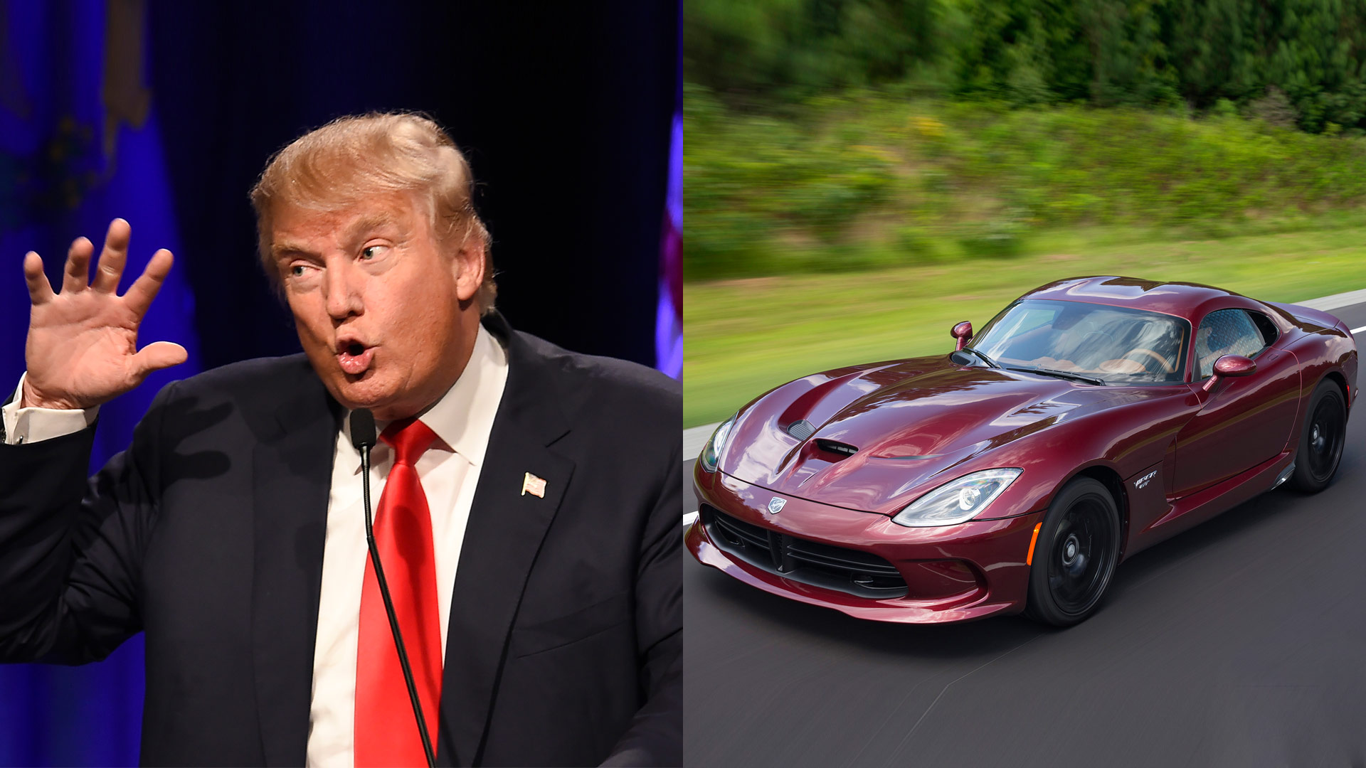 2016 presidential campaign special gop candidate spirit cars the drive. Black Bedroom Furniture Sets. Home Design Ideas
