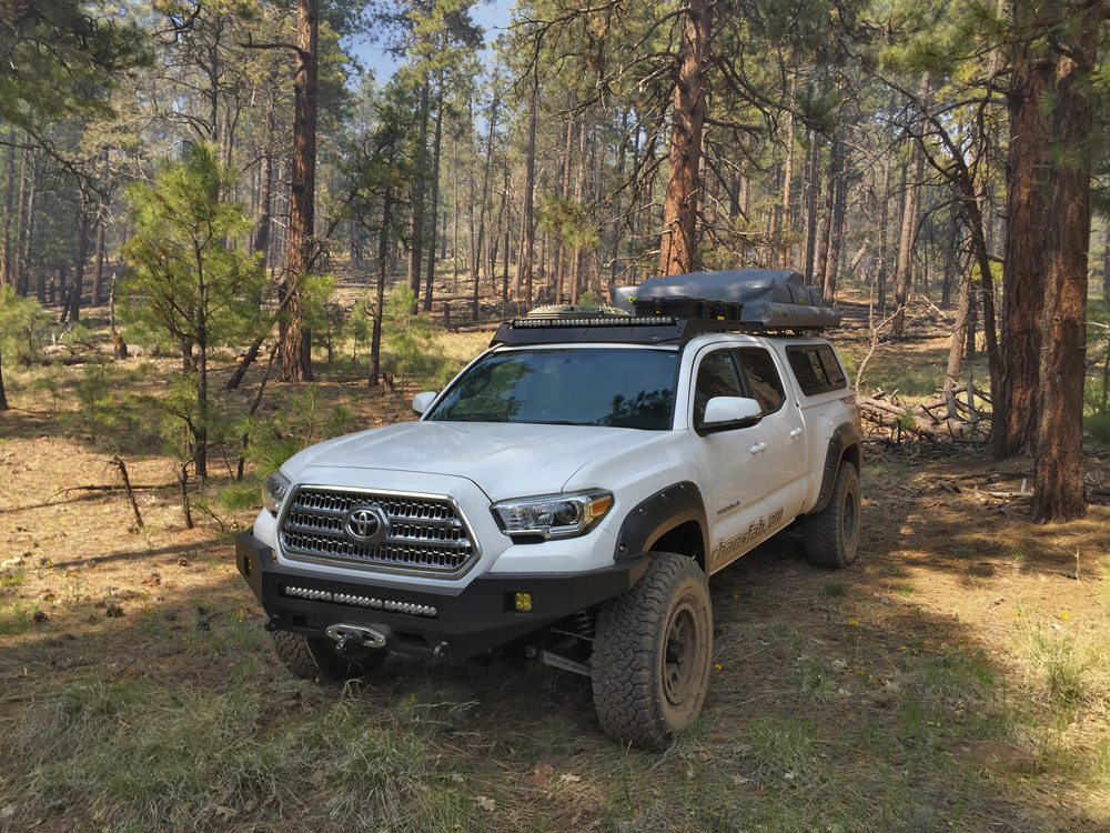 2016 toyota tacoma overland build by total chaos the drive. Black Bedroom Furniture Sets. Home Design Ideas