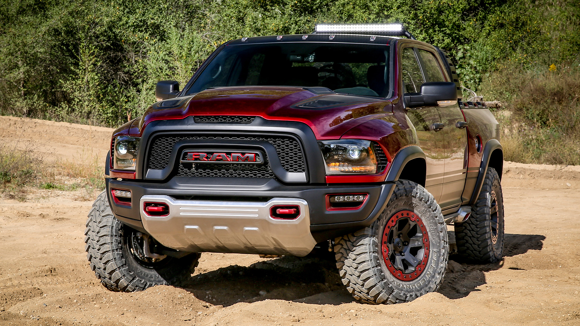 The Hellcat-Powered Ram Rebel TRX Concept Truck Is a 575-HP Monster