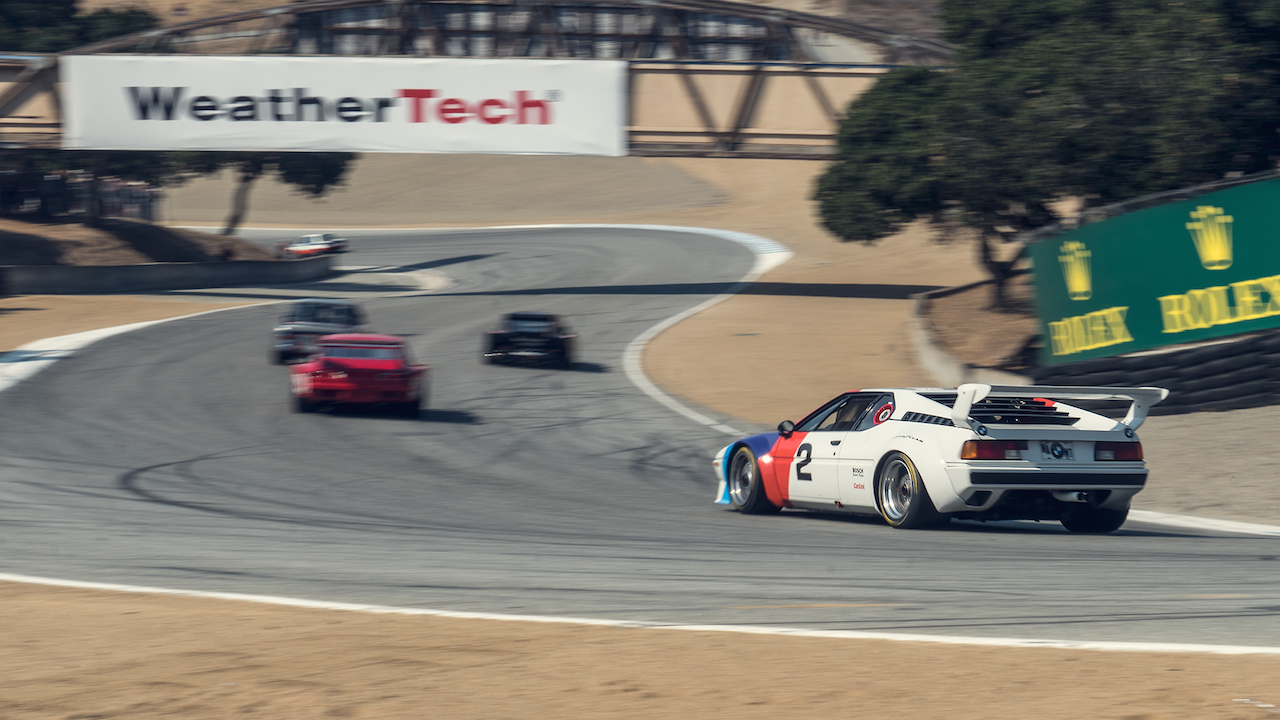 How it Feels to Race a BMW M1 at Laguna Seca - The Drive