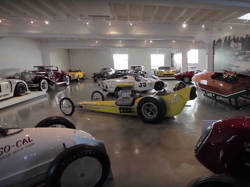 your private garage would look like bruce meyer u2019s private