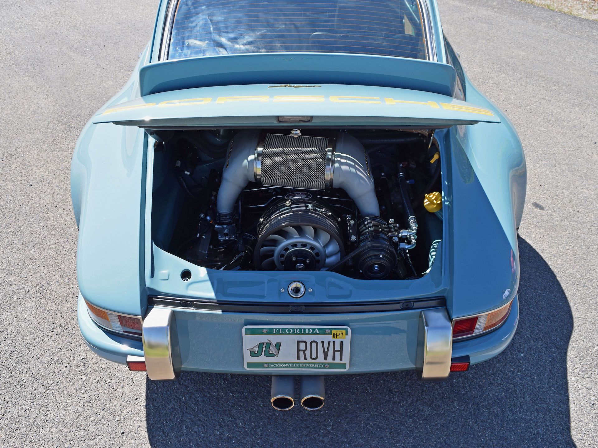 driving a 500 000 singer customized porsche 911 ruins every other