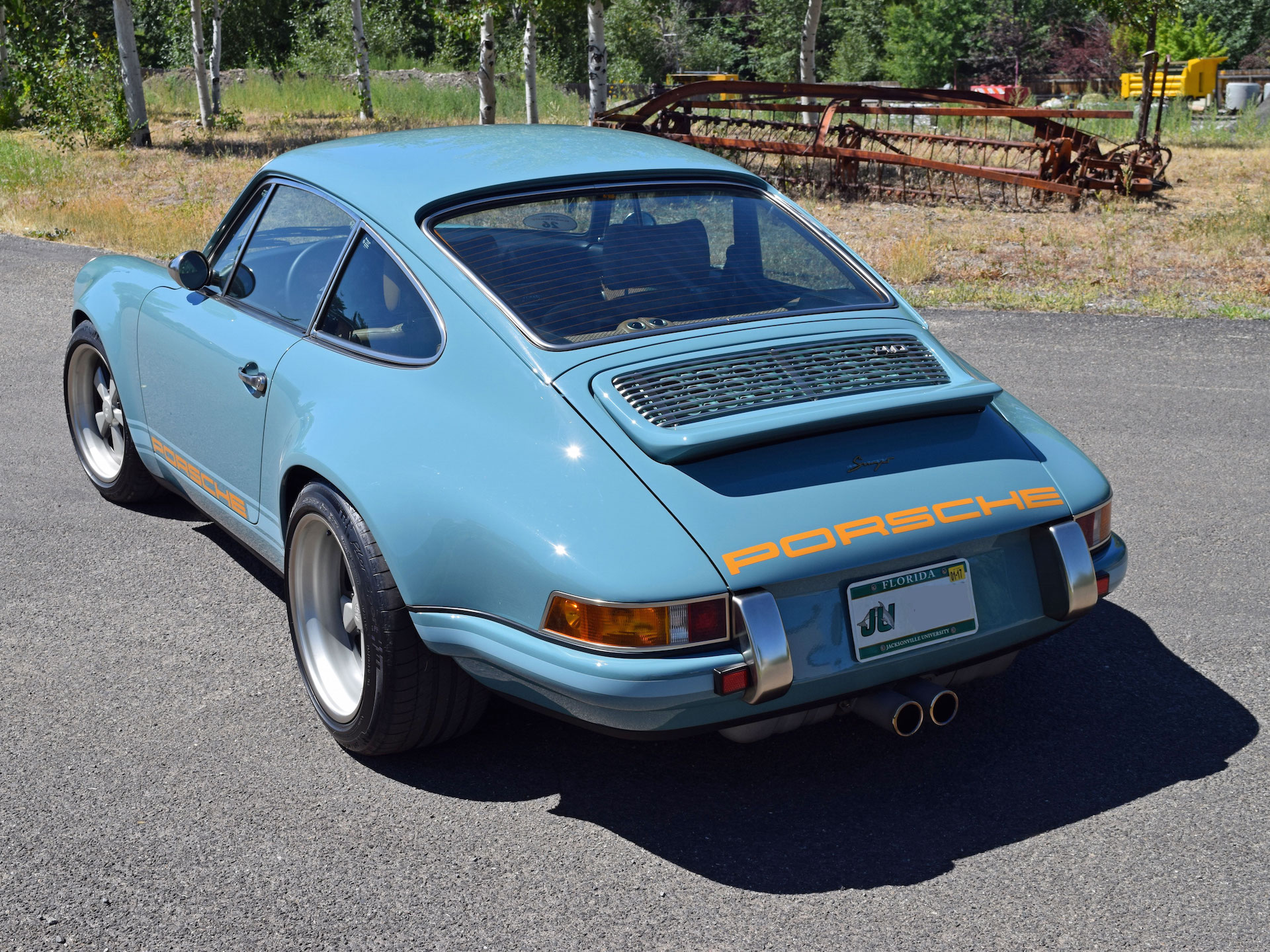 Driving A 500 000 Singer Customized Porsche 911 Ruins
