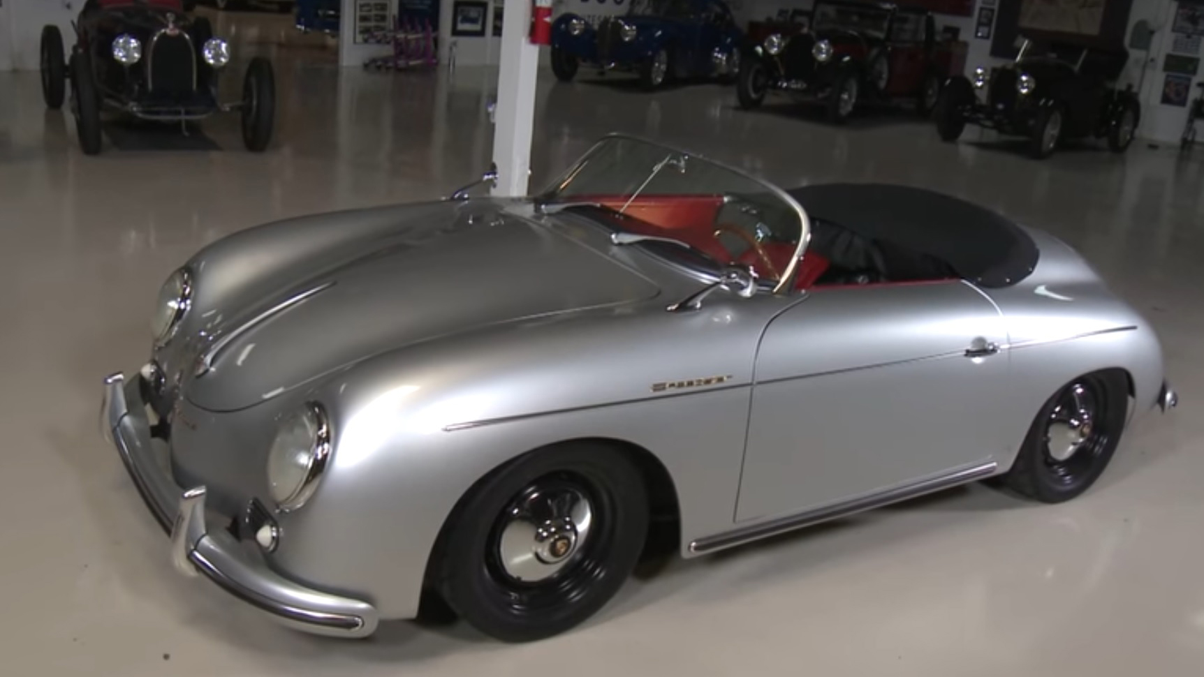 jay leno drives a 356 speedster replica that is possibly. Black Bedroom Furniture Sets. Home Design Ideas