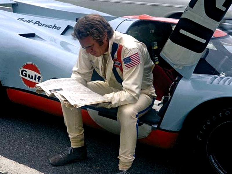 Behind The Scenes With Steve Mcqueen At Le Mans The Drive
