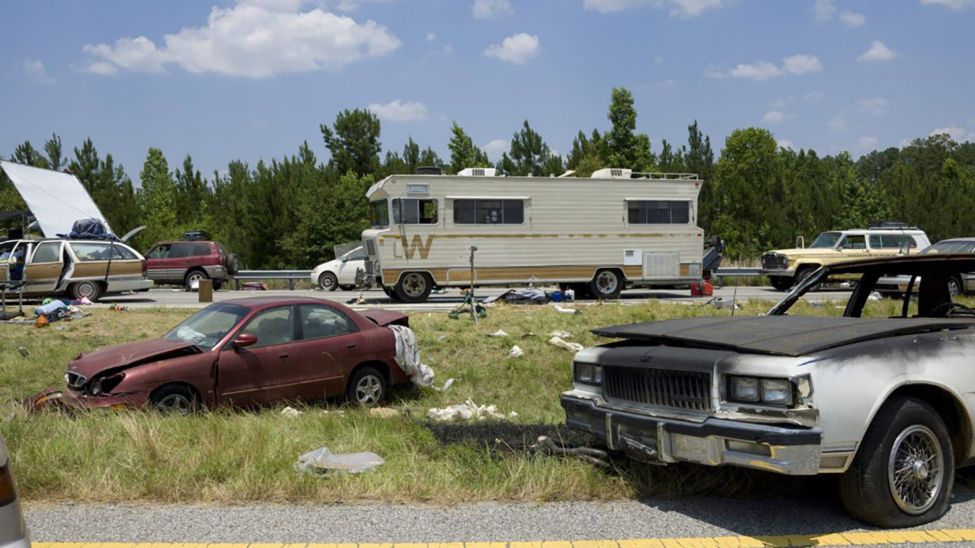 Recasting The Walking Dead Garage The Drive