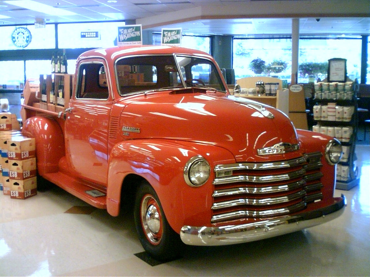 10 Vintage Pickups Under 12000 The Drive 1949 Chevy Panel Van Wikimedia Commons