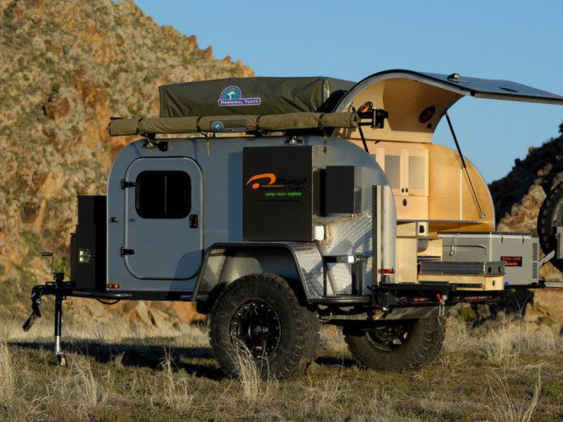 Off Road Trailers Encourage More To Explore The Drive