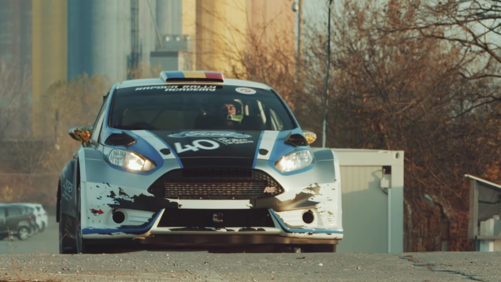 This Ford Fiesta Rally Car Gymkhana Video Doesn T Need Ken