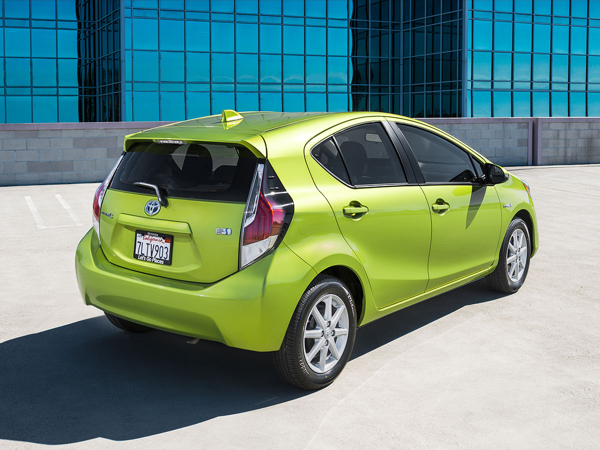 The 2016 Toyota Prius C Makes No Sense—And That's the Appeal