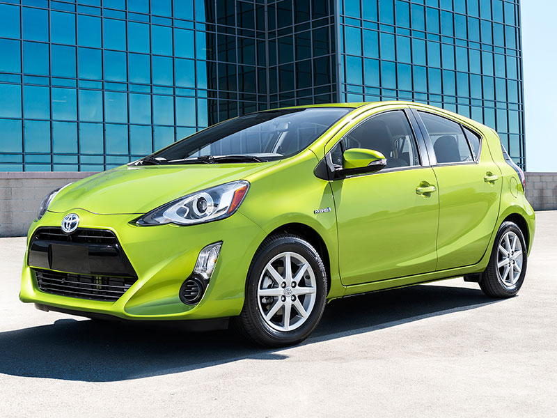 The 2016 Toyota Prius C Makes No Sense—And That's the Appeal - The Drive