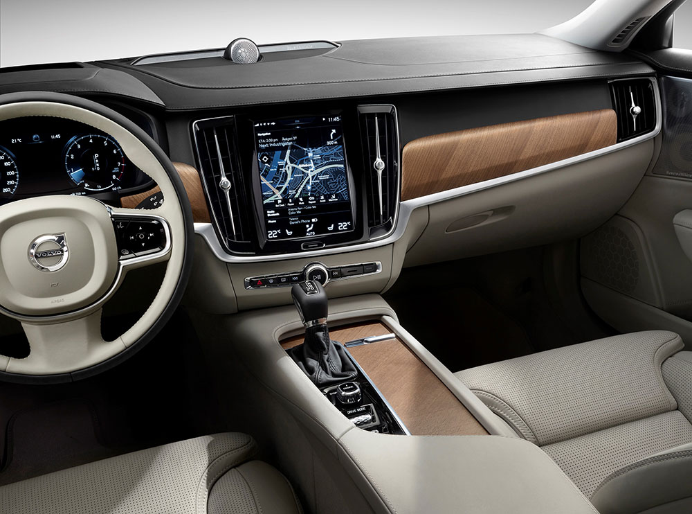 מגניב ביותר The 2017 Volvo S90 T6 Inscription Is Calm, Cool, and Comfortable IT-78