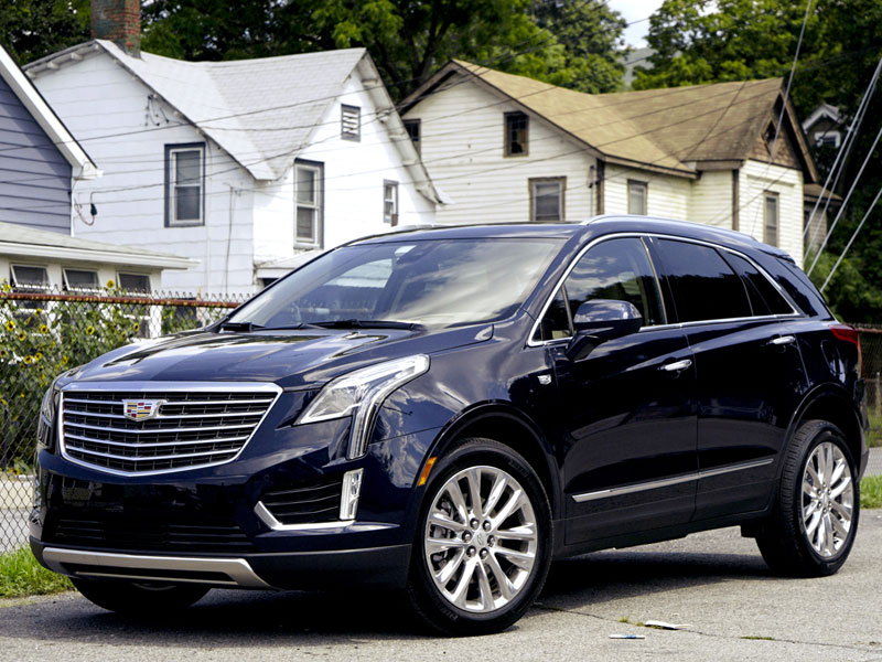 The 2017 Cadillac XT5 Is a Port in a Storm of Boring Crossovers - The Drive